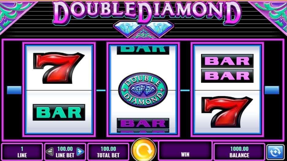 Símbolos, gráficos, sons e animações de Double Diamond