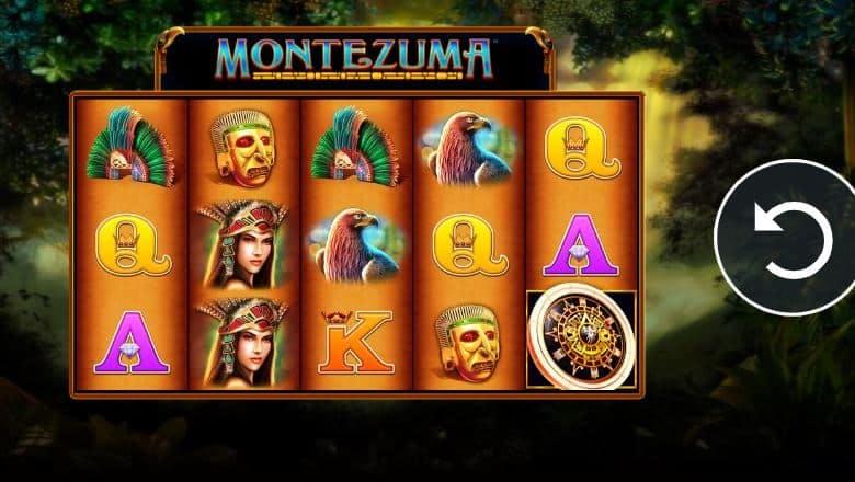 Símbolos, gráficos, sons e animações de Montezuma