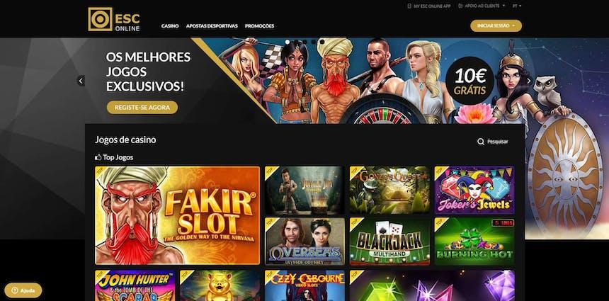 Melhores Jogos de Slot Machines Online em ESC online