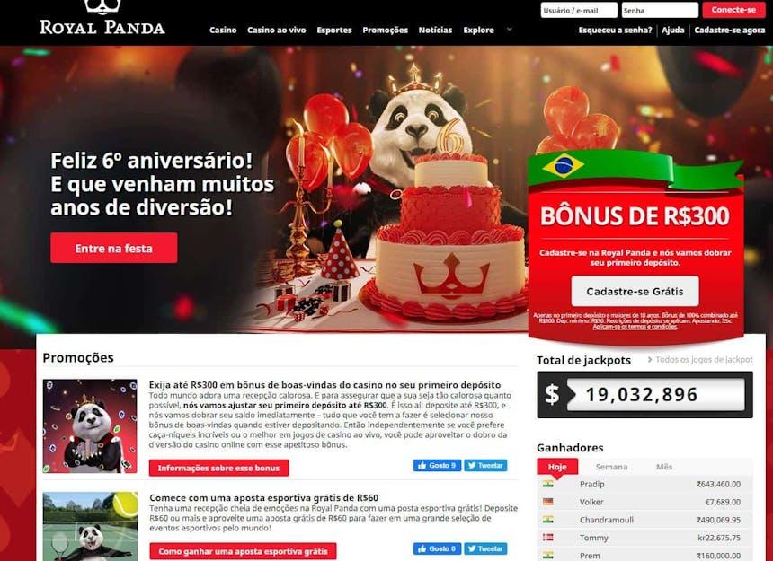 O Royalpanda oferece aos seus jogadores diversos bónus e promoções.