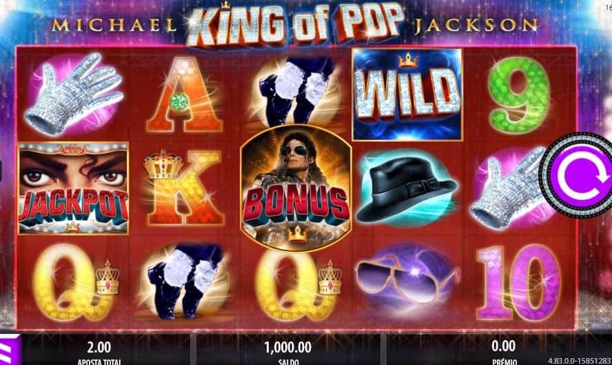Símbolos, gráficos, sons e animações de Michael Jackson: King of Pop