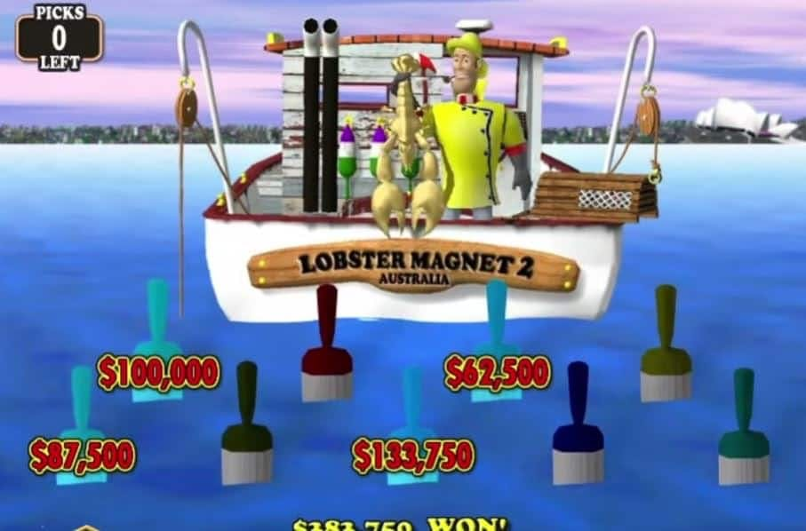 rodadas bónus e giros grátis en Lucky Larrys Lobstermania