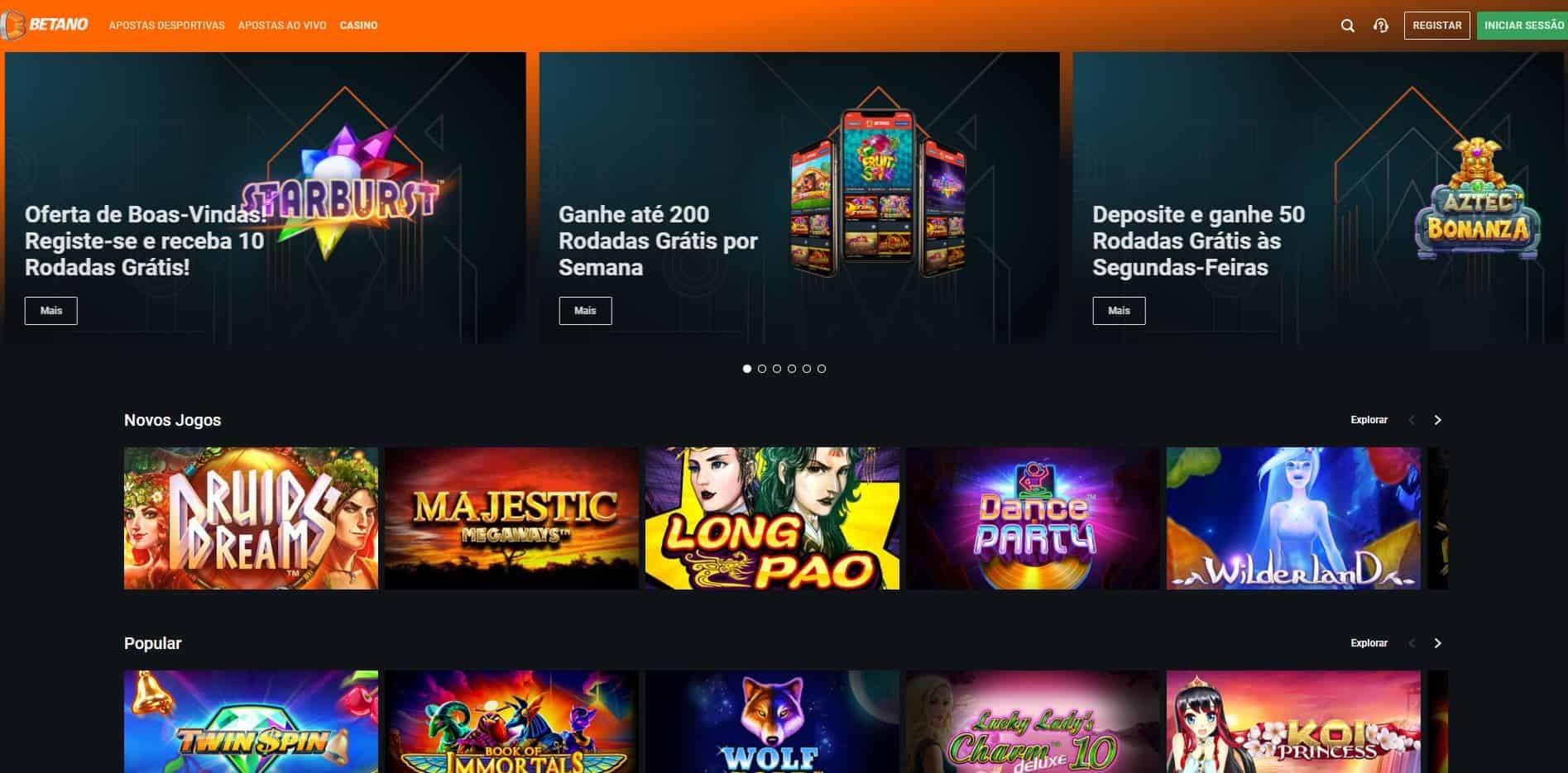 Melhores Jogos de Slot Machines Online em Betano