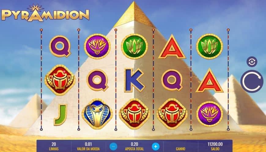 Símbolos, gráficos, sons e animações de Pyramidion