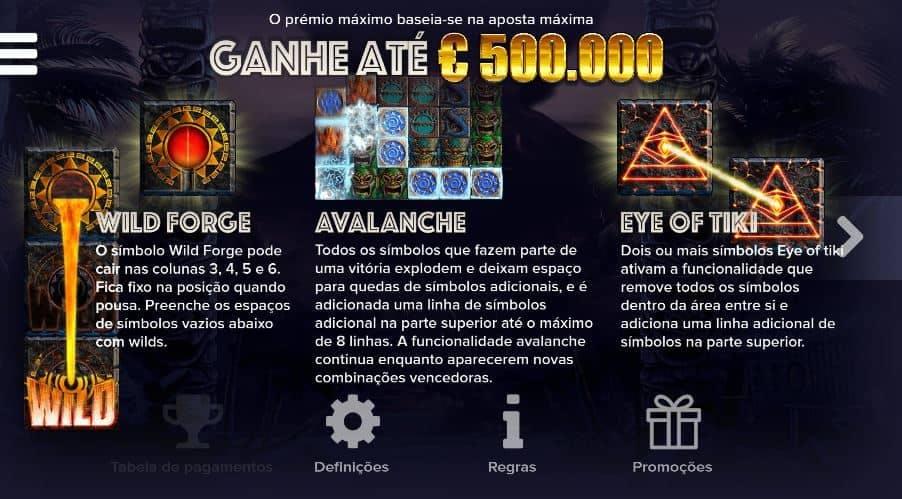 tabela de pagamento de Tahiti Gold