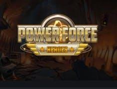 Power Force Heroes logo