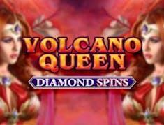 Volcano Queen Diamond Spins logo