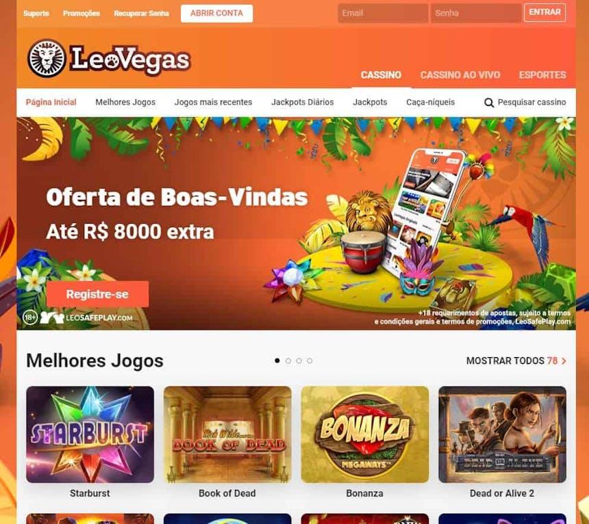 Melhores Jogos de Slot Machines Online em Leovegas