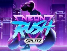 Neon Rush Splitz logo