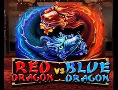 Red Dragon VS Blue Dragon logo