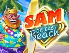Sam on the Beach logo