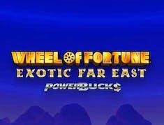 Wheel of Fortune Exotic Far East logo