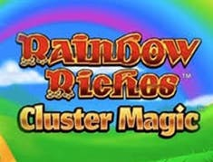 Rainbow Riches Cluster Magic logo
