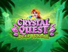 Crystal Quest: Deep Jungle logo