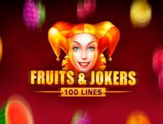Fruits and Jokers: 100 lines logo