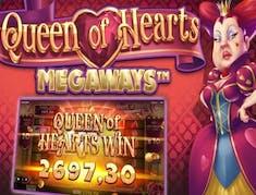Queen of Hearts Megaways logo