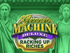 The Green Machine Deluxe Racking Up Riches logo
