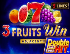 3 Fruits Win Double Hit logo