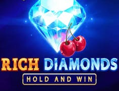 Rich Diamonds Hold and Win logo