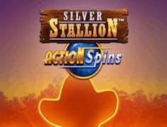 Silver Stallion Action Spins logo