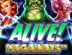 Alive! Megaways logo