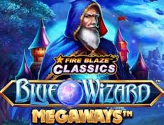 Fire Blaze Blue Wizard Megaways logo